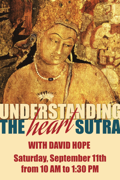 Understanding the Heart Sutra with David Hope